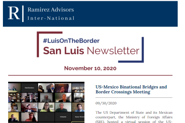 LuisOnTheBorder - November, 2020